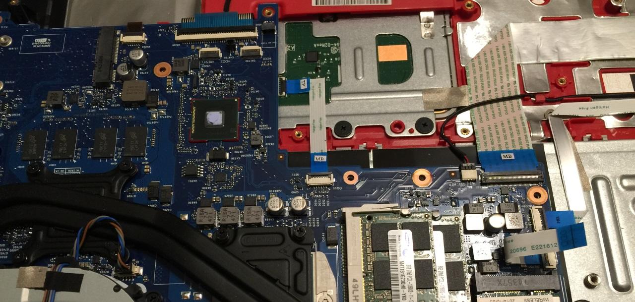 Fixing Laptop2